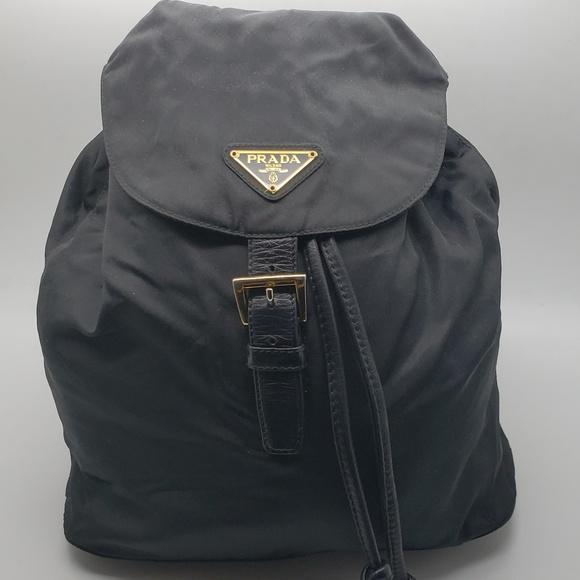 563b1c42765b Prada Mini Nero Gold Chain Backpack. M 5bbd2ed1a31c33da5d7c5060. Other Bags  ...